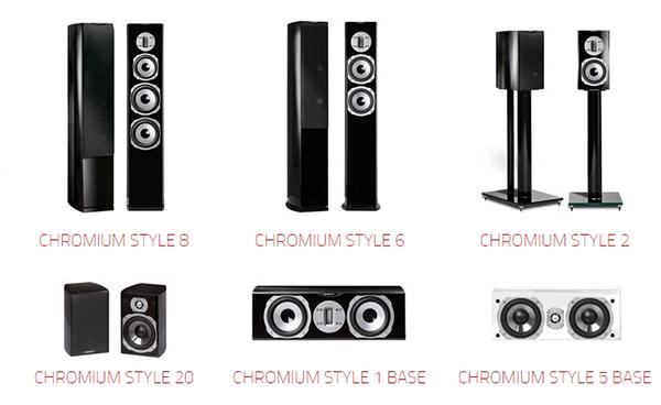 quadral chromium style u audio. Black Bedroom Furniture Sets. Home Design Ideas